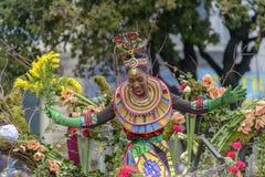 Bloem Carnaval in Nice, Frankrijk royalty-vrije stock afbeelding