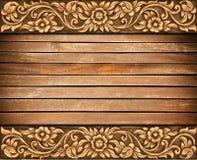 Bloem gesneden frame Royalty-vrije Stock Foto's