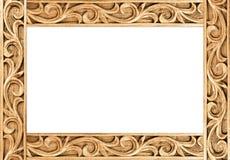 Bloem gesneden frame royalty-vrije stock afbeeldingen