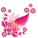 bloem illustratie Stock Afbeelding