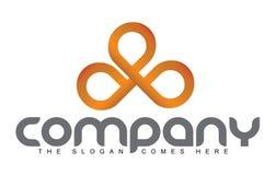 Bloem Logo Concept Stock Foto's