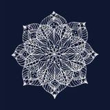 Bloem Mandala royalty-vrije stock afbeelding