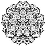 Bloem Mandala stock illustratie