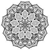 Bloem Mandala Stock Afbeelding