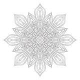 Bloem Mandala stock afbeeldingen