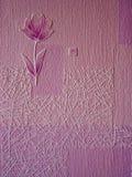 Bloem met texturen Royalty-vrije Stock Fotografie