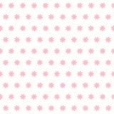 Bloem naadloos vectorpatroon Stock Afbeeldingen