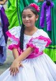 Bloem & Palmfestival in Panchimalco, El Salvador Royalty-vrije Stock Afbeeldingen