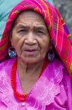 Bloem & Palmfestival in Panchimalco, El Salvador Royalty-vrije Stock Foto's