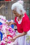Bloem & Palmfestival in Panchimalco, El Salvador Stock Afbeeldingen