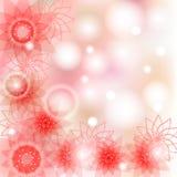 Bloem roze achtergrond Royalty-vrije Stock Afbeeldingen