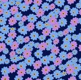 Bloem, samenvatting, patroon, bloemen, aard, gele kleur, bloemen, kleurrijk, groen, blauw, decoratie, behang, madeliefje, wit, sp stock illustratie