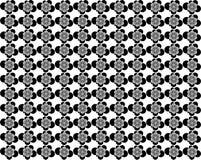 Bloem uitstekend patroon Stock Foto