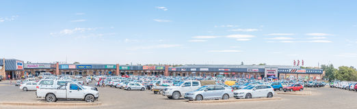 Bloem Value Mart Shopping Centre in Fleurdal Stock Image