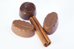 Bloem van chocolade Stock Afbeeldingen