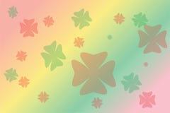 Bloem van de onduidelijk beeld de kleurrijke tekening Royalty-vrije Stock Foto