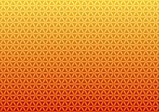 Bloem van het leven - heilige meetkunde vector illustratie