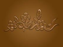 Bloem vectorillustratie Stock Foto