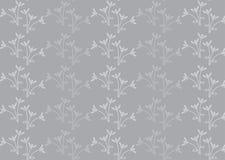 Bloem vectorpatroon Royalty-vrije Stock Afbeelding
