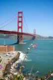 Bloem voor Golden gate bridge royalty-vrije stock afbeelding