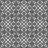 Bloem zwart-wit behang Royalty-vrije Stock Afbeelding
