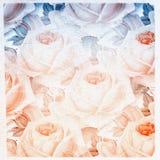 Bloemblaadjes van rozen vector illustratie