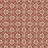 Bloembloemblaadjes in retro stijl kleurrijke abstracte vectorillustratie als achtergrond Stock Afbeeldingen