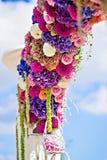 Bloemboog Royalty-vrije Stock Afbeelding