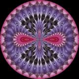 Bloemcaleidoscoop 1 Stock Afbeelding