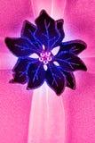 Bloemdecoratie en lint Royalty-vrije Stock Afbeelding