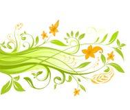 Bloemen-1 Stock Illustratie