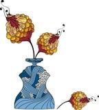 Bloemen royalty-vrije illustratie