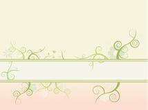 Bloemen aardachtergrond Stock Illustratie
