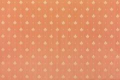 Bloemen abstract bruin behang Stock Foto