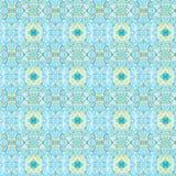 Bloemen Abstract naadloos patroon Takjes en bladeren Royalty-vrije Stock Foto's