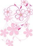 Bloemen abstract ontwerpelement Stock Foto