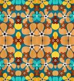 Bloemen abstract patroon Royalty-vrije Stock Foto