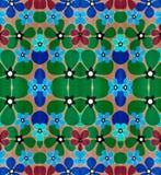 Bloemen abstract patroon Stock Afbeelding