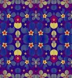 Bloemen abstract patroon Stock Afbeeldingen