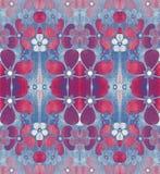 Bloemen abstract patroon Royalty-vrije Stock Afbeeldingen