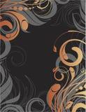 Bloemen abstracte achtergrond Stock Foto's