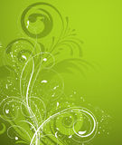 Bloemen abstracte achtergrond. Stock Fotografie