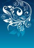 Bloemen abstracte achtergrond, vector Stock Fotografie