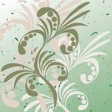Bloemen abstracte achtergrond. Vector. Royalty-vrije Stock Foto
