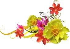 Bloemen abstractie vector illustratie