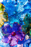Bloemen abstractie Royalty-vrije Stock Fotografie