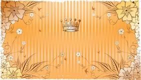 Bloemen Achtergrond 1-2 Royalty-vrije Stock Afbeelding