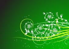 Bloemen achtergrond royalty-vrije illustratie