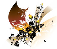 Bloemen achtergrond Royalty-vrije Stock Afbeelding