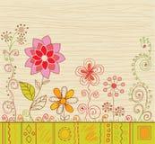 Bloemen achtergrond. Royalty-vrije Stock Afbeeldingen